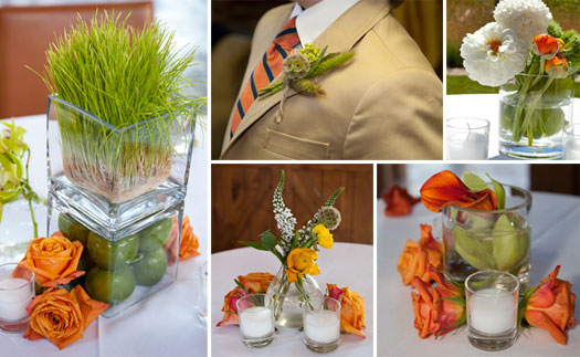 Mountain Rustic In Jackson Hole Luxe Mountain Weddings Magazine - Burnt orange and green wedding colors