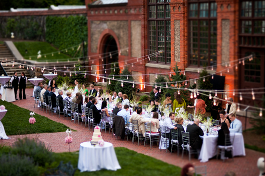 Garden elegance at the biltmore luxe mountain weddings for Wedding venues in asheville nc