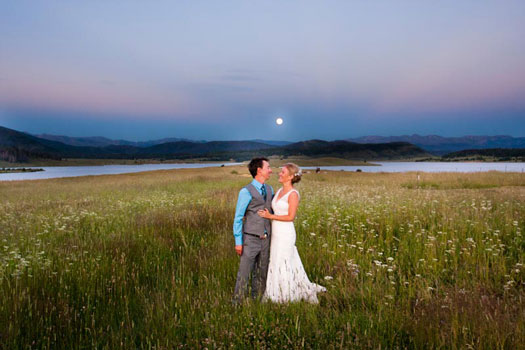 Love under a Full Moon in Steamboat Springs