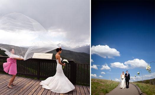 Vail weddings, Rocky Mountain wedding