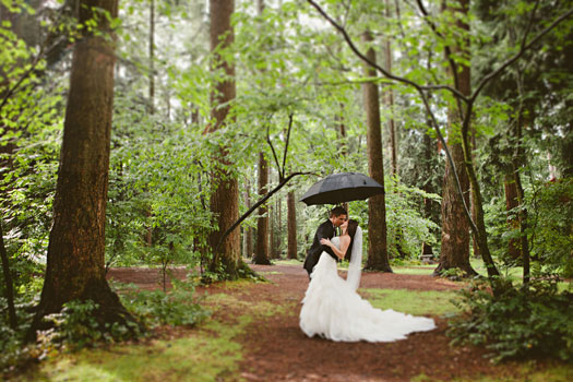An Enchanted Forest Wedding In Canada