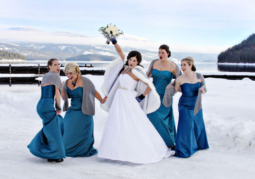 Winter Wedding In The Archives