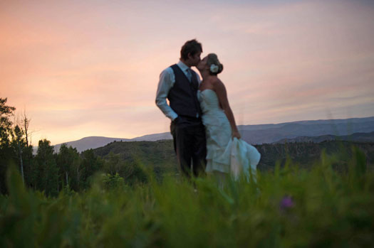 A Simply Perfect Wedding on Snowmass Mountain, Colorado
