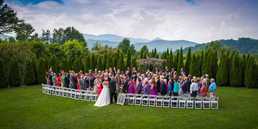 A Wedding in the Blue Ridge Mountains