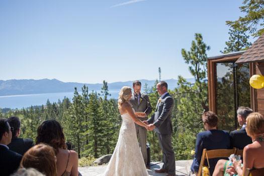 A Lake Tahoe Destination Wedding