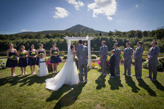 Wedding: Modern DIY Elegance in Vermont