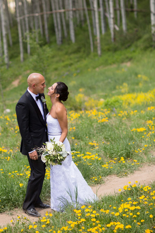 A Rocky Mountain destination wedding in Beaver Creek, Colorado