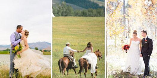 Mountain weddings - Boulder, Montana, Colorado