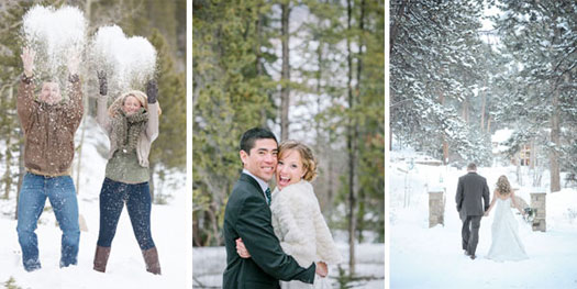 Colorado mountain weddings - Steamboat, Vail, Telluride