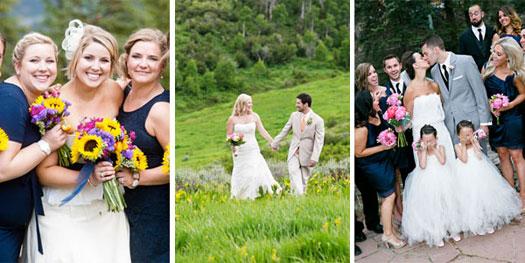 Colorado mountain weddings - Breckenridge, Vail, Telluride