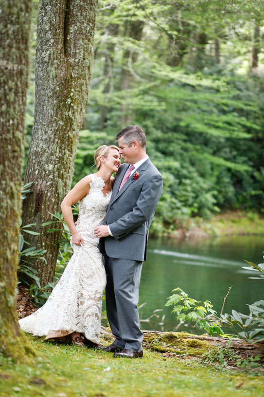 A Perfect Wedding Day in the Blue Ridge Mountains