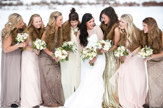 Rustic Glam Wedding in Colorado