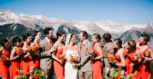 A Rustic A Mountain Destination Wedding in Telluride