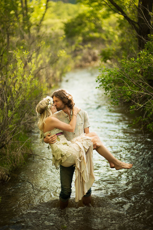 A Bohemian Engagement in Boulder
