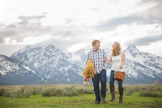 An Engagement Shoot in Grand Teton National Park, Jackon Wyoming