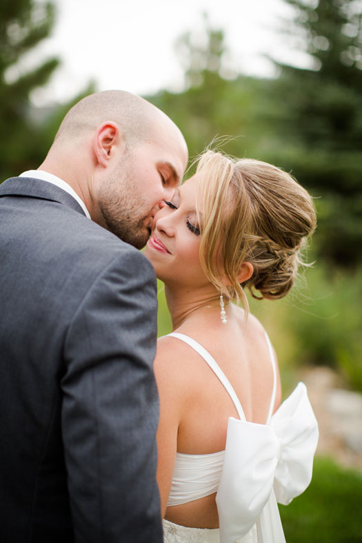 Two Happy Campers Wed in Colorado