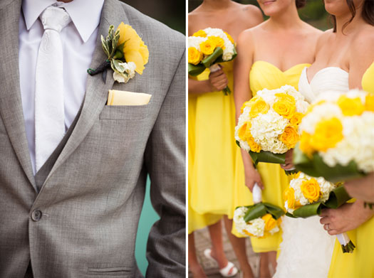 A Buttercup & Emerald Wedding in Canada