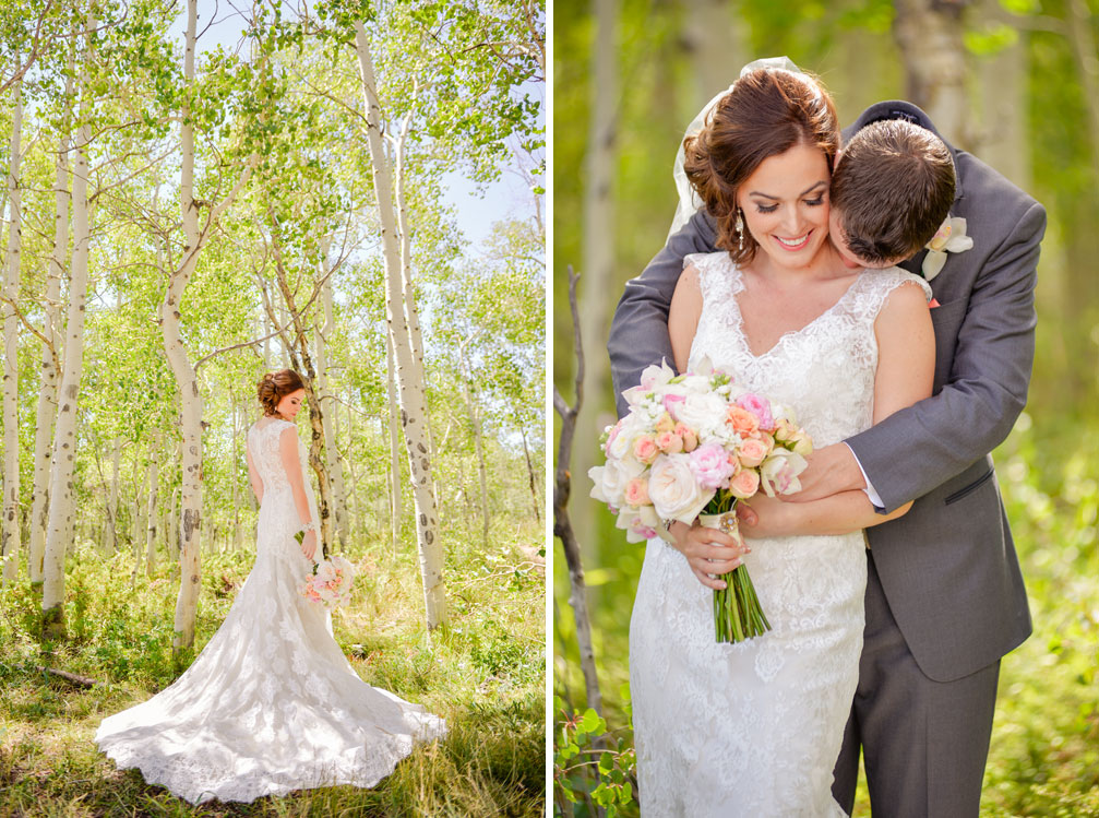 A Vintage Mountain Wedding in Colorado