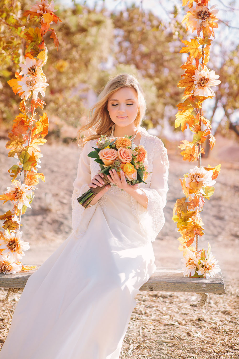 Styled Shoot Fall Romance Luxe Mountain Weddings