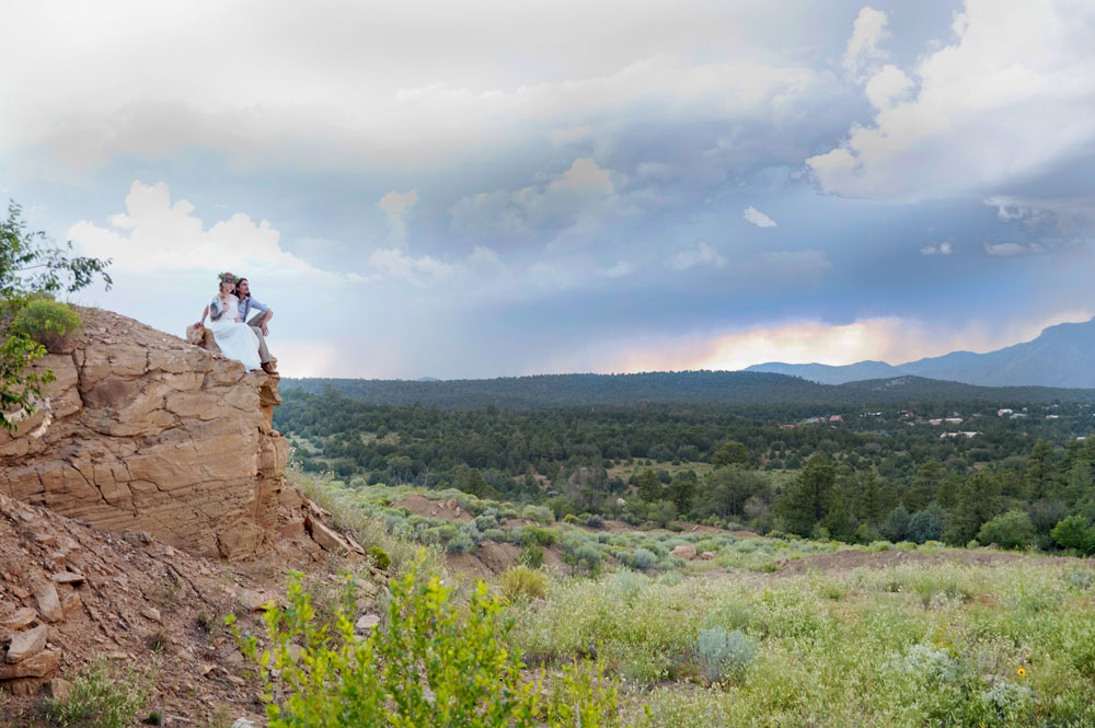 A Bohemian Wedding in New Mexico