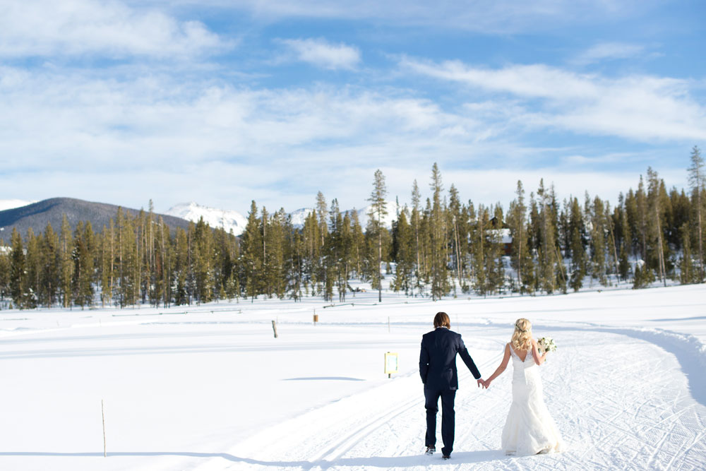 A Rocky Mountain Winter Wedding, Devil's Thumb Ranch, Colorado