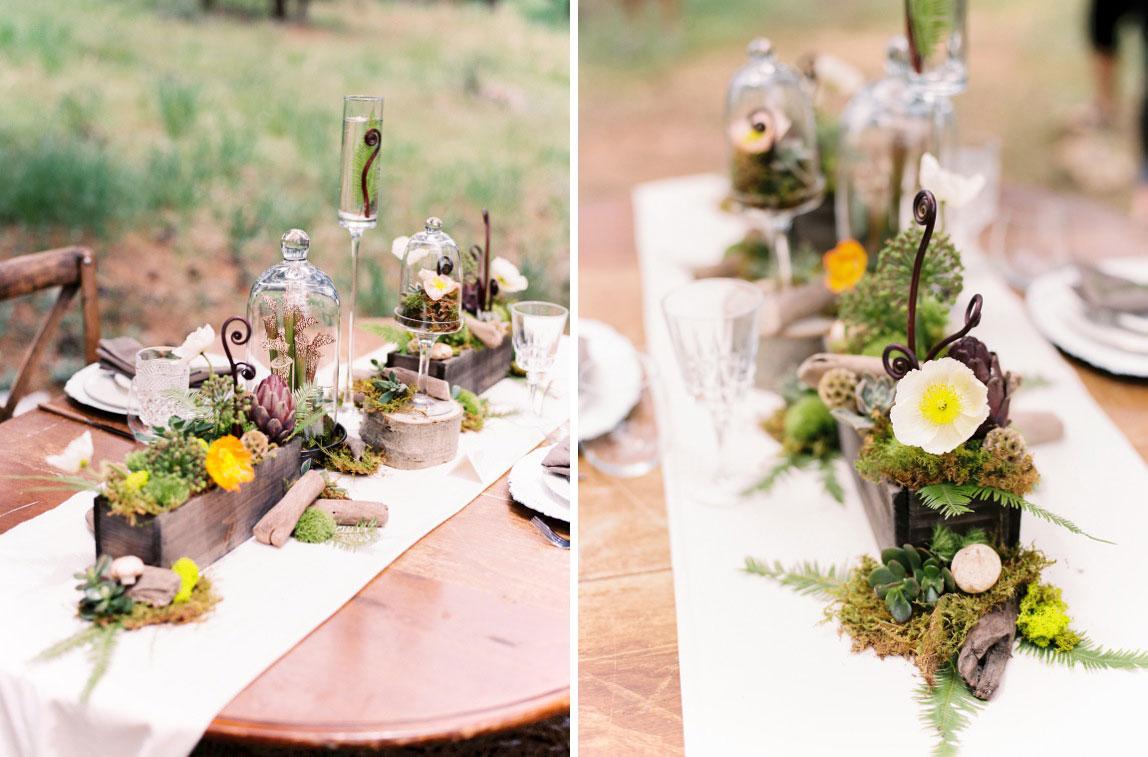 Woodland Wedding Inspiration for Forest Weddings