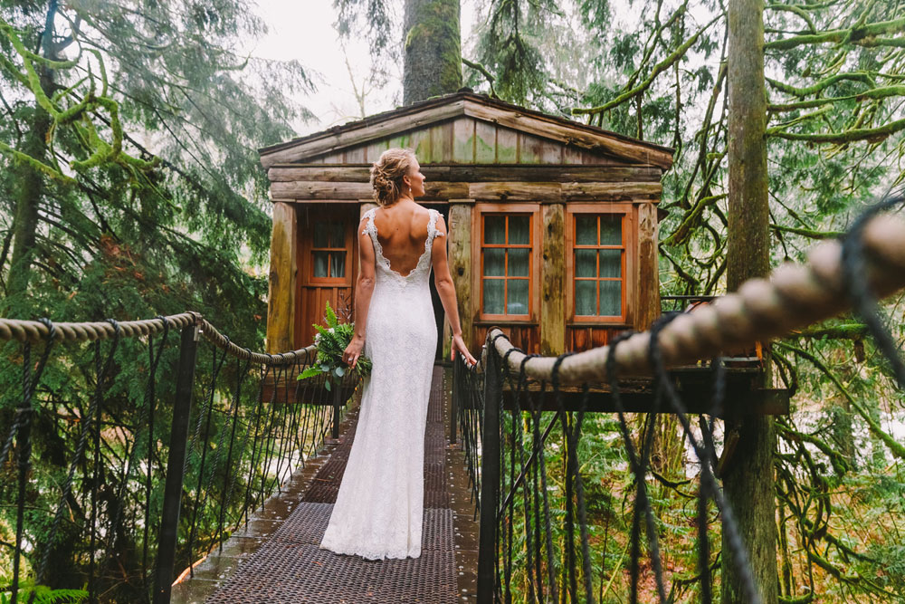 ... Washington A Treehouse Wedding Shoot in the Forest, ...
