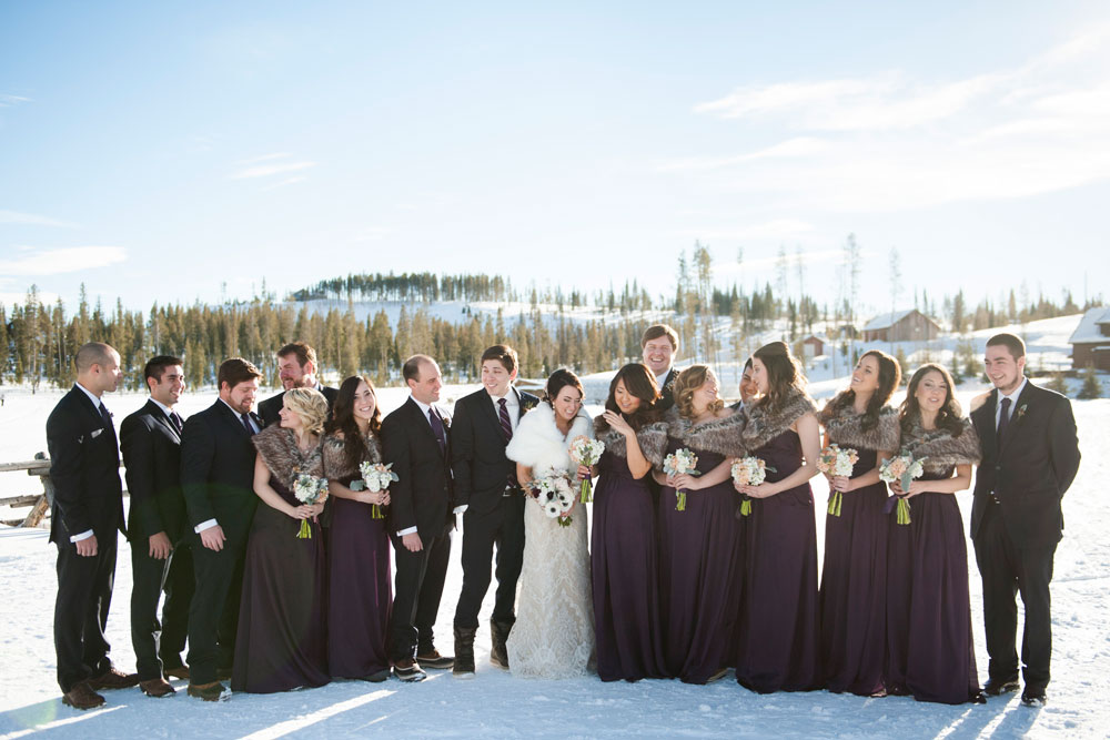 A Whimsical Winter Wedding in the Colorado Rockies