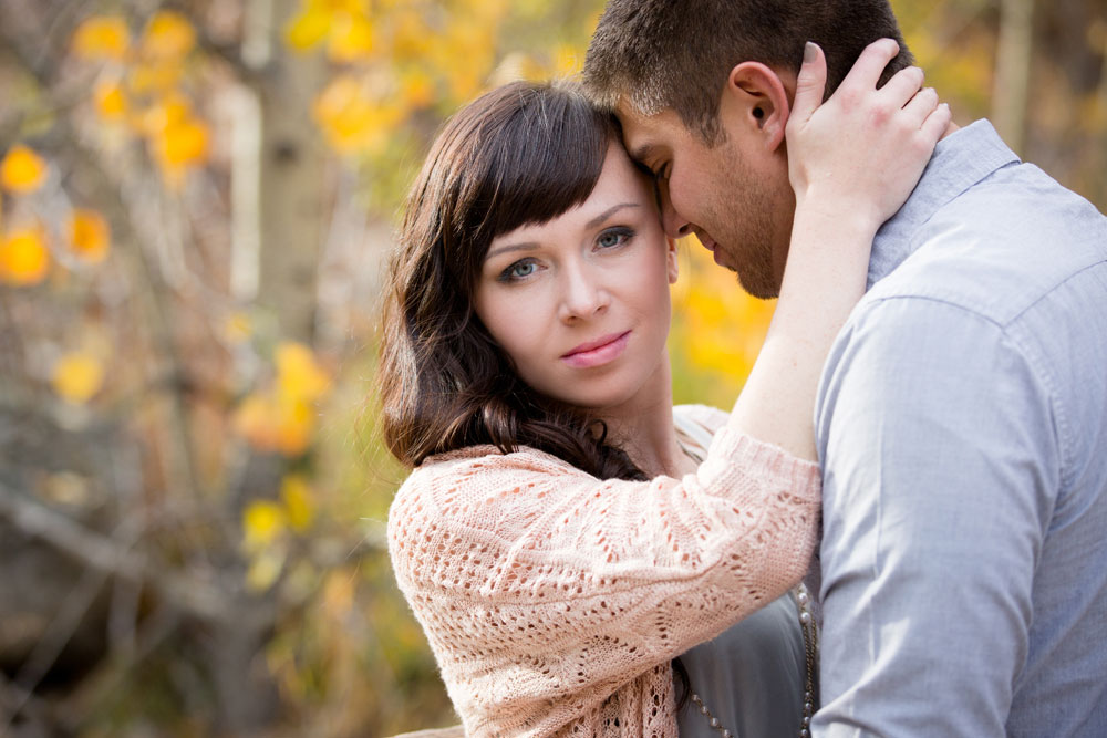 Fall Engagement Shoot in the Colorado Rocky Mountains
