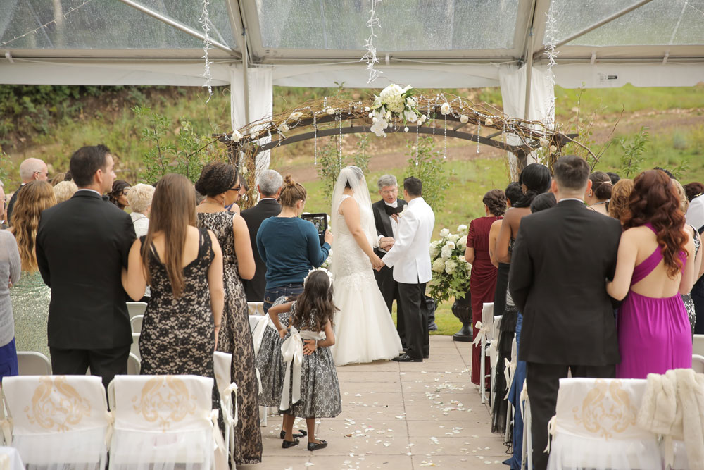 A White Tie Mountain Wedding in Canyon Resort, Utah
