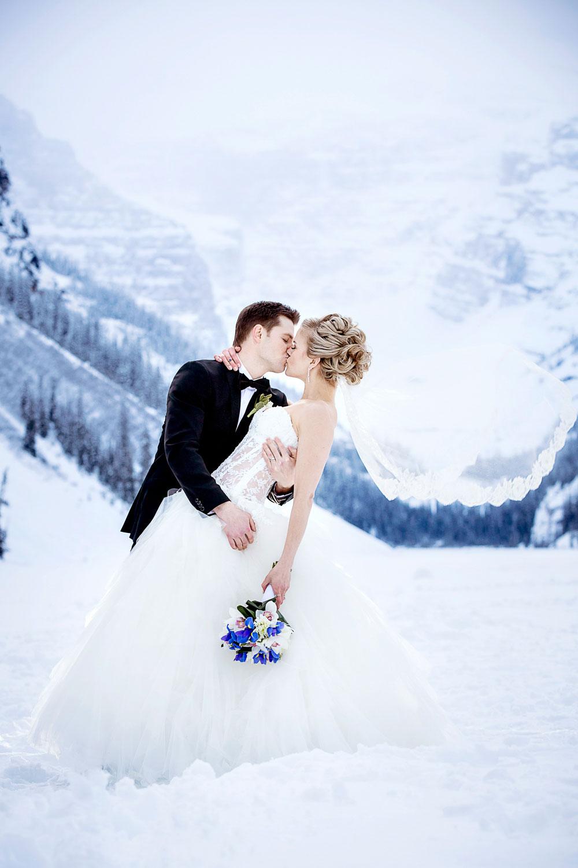 Winter Mountain Wedding