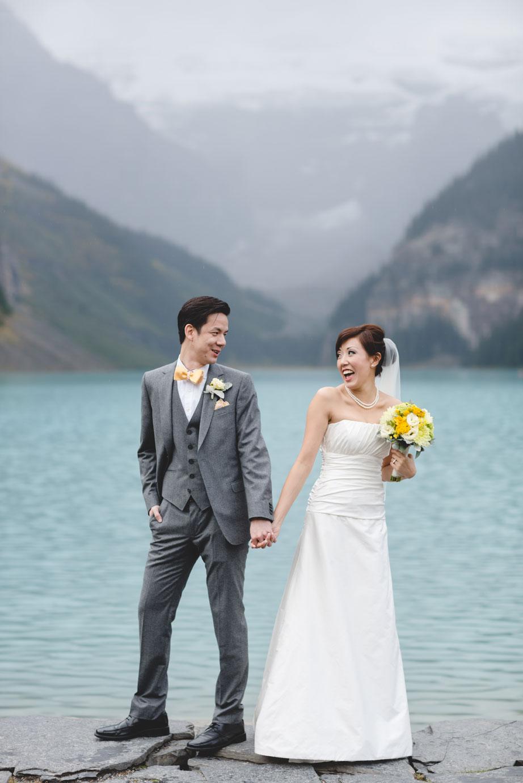 Destination Wedding Lake Louise, Alberta, Canada