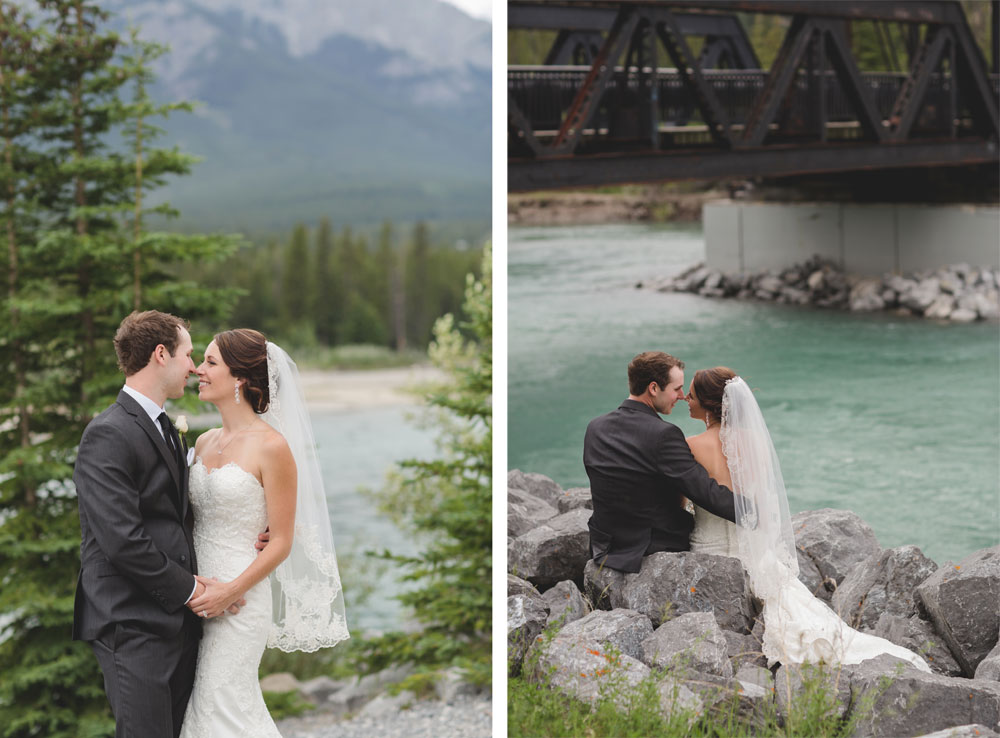 Summer Wedding in the Candian Rockies