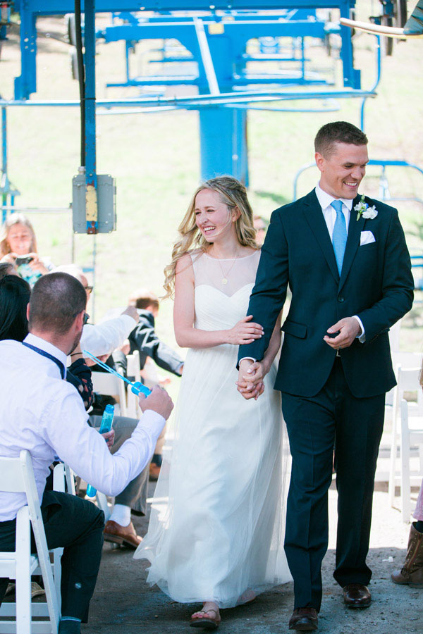 Ski Lift Vow Renewal in Canada