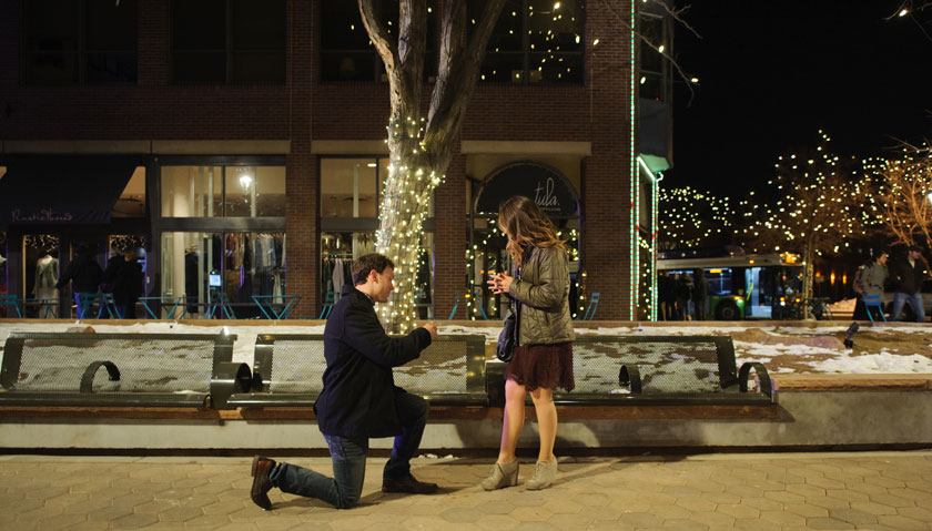 A Secret New Year's Eve Proposal in Colorado