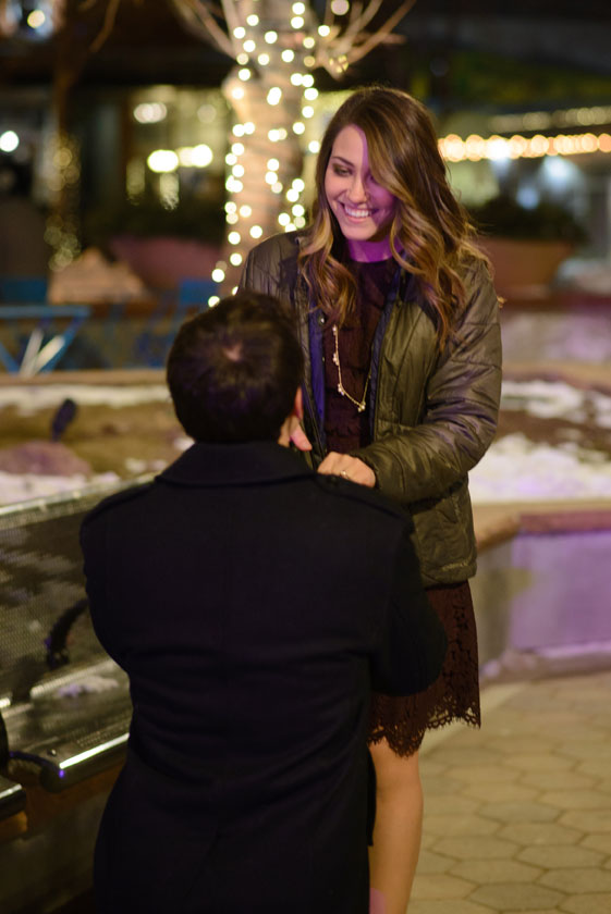 A Secret New Year's Eve Marriage Proposal in Colorado