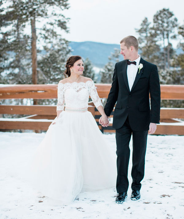 A Winter Wedding in the Rocky Mountains