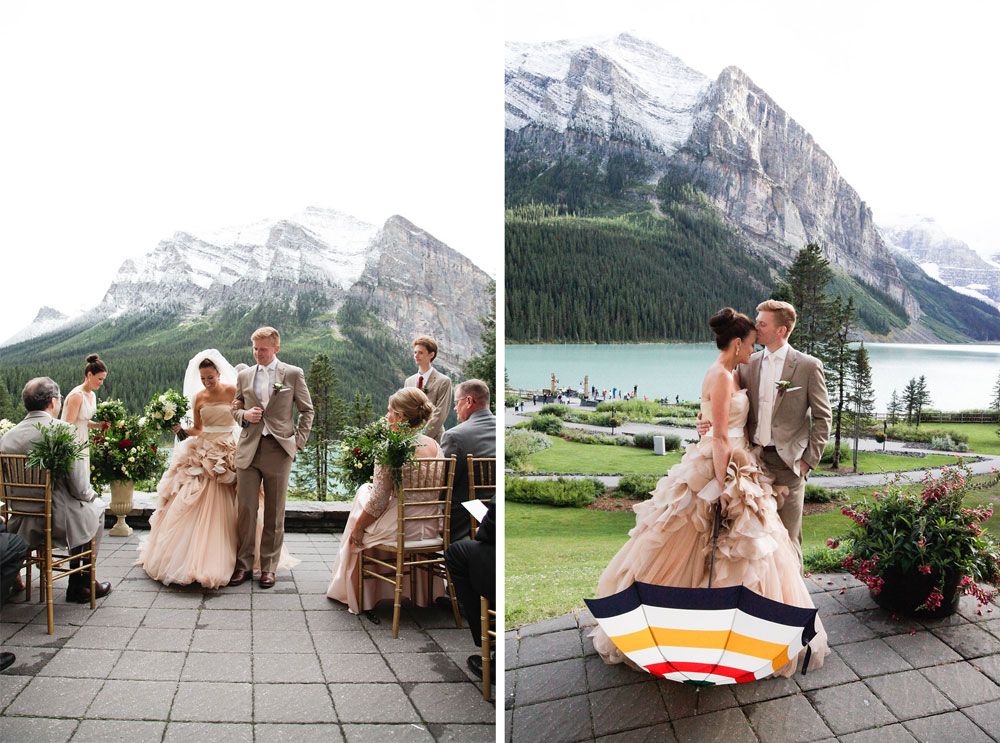 A Destination Wedding in the Canadian Rockies