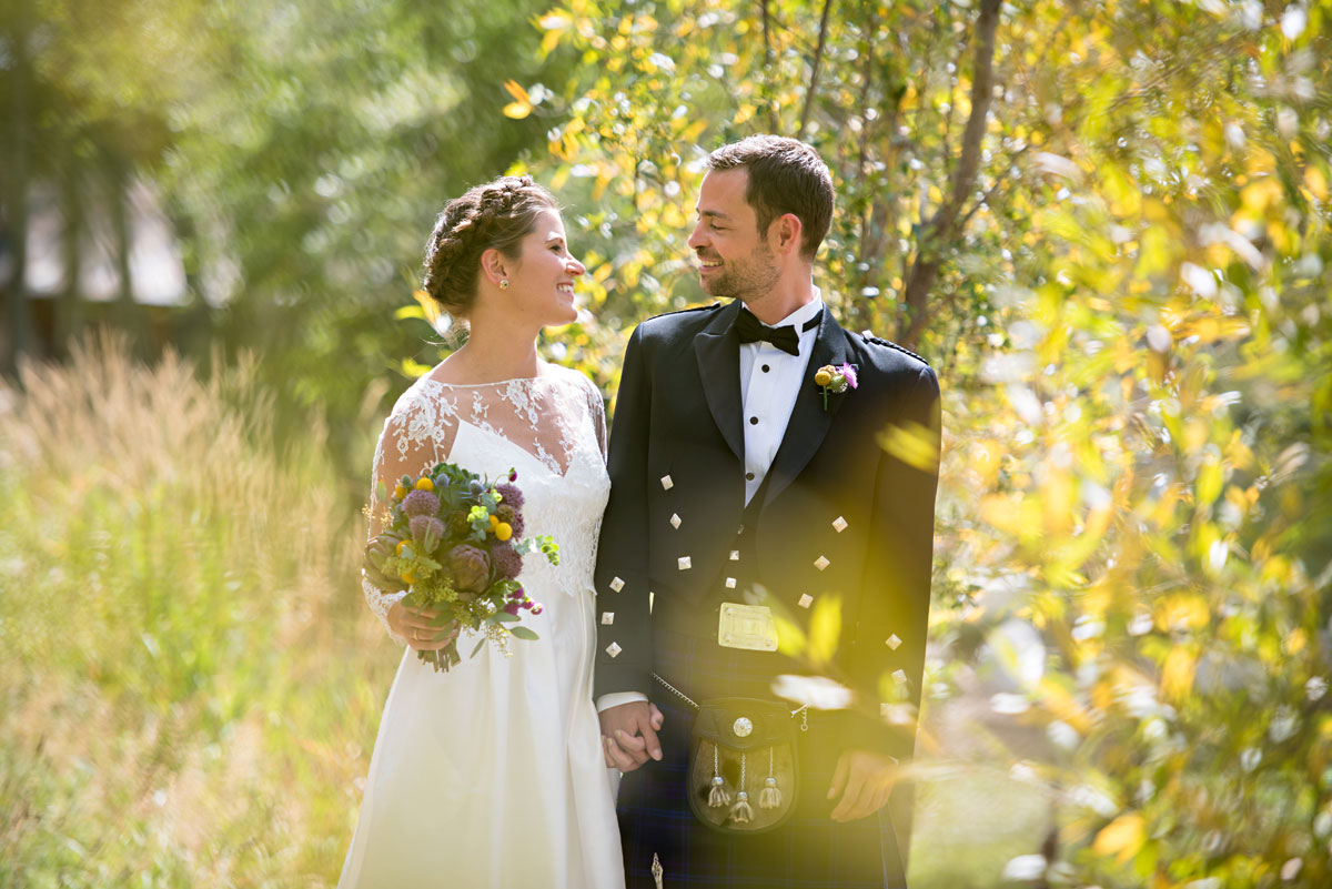 A Rustic Highland Garden Wedding in Steamboat Spring Colorado