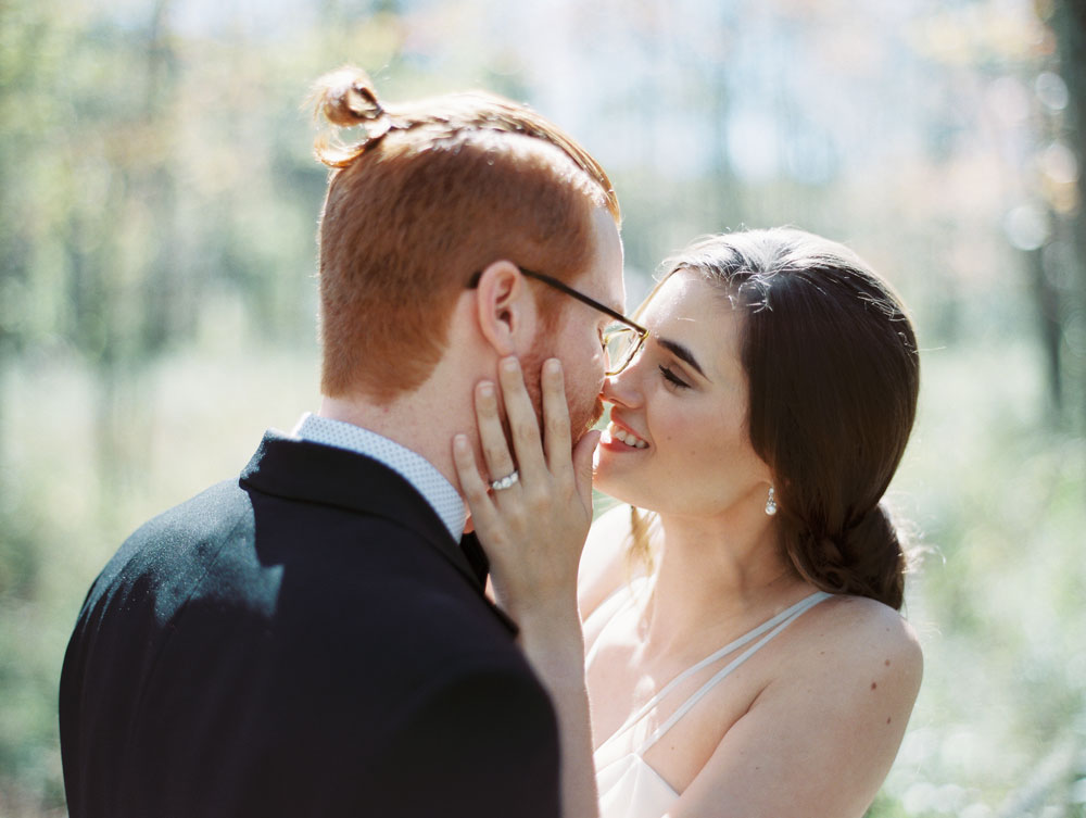 A Woodland Styled Elopement Shoot in the Mountains of Georgia