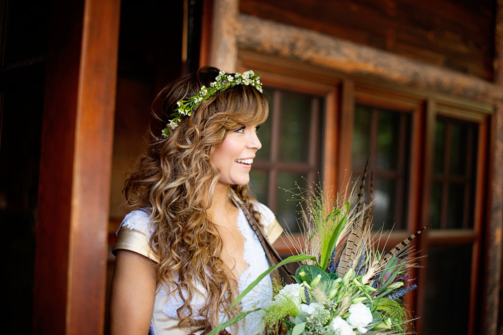 Refined Mountain Rustic Western Chic Wedding in Montana