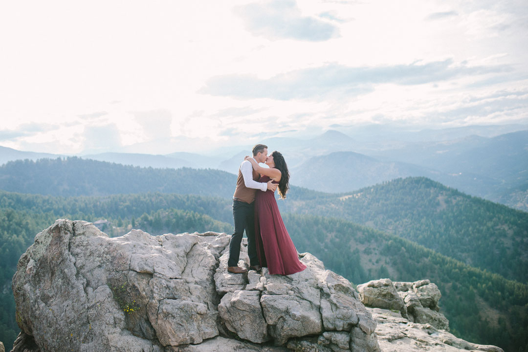 Colorado Rocky Mountain Engagement Session