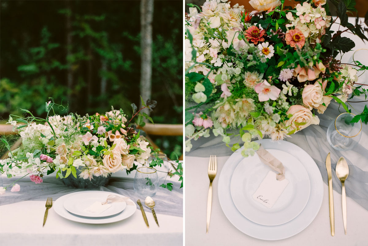 A Styled Canmore Mountain Elopement