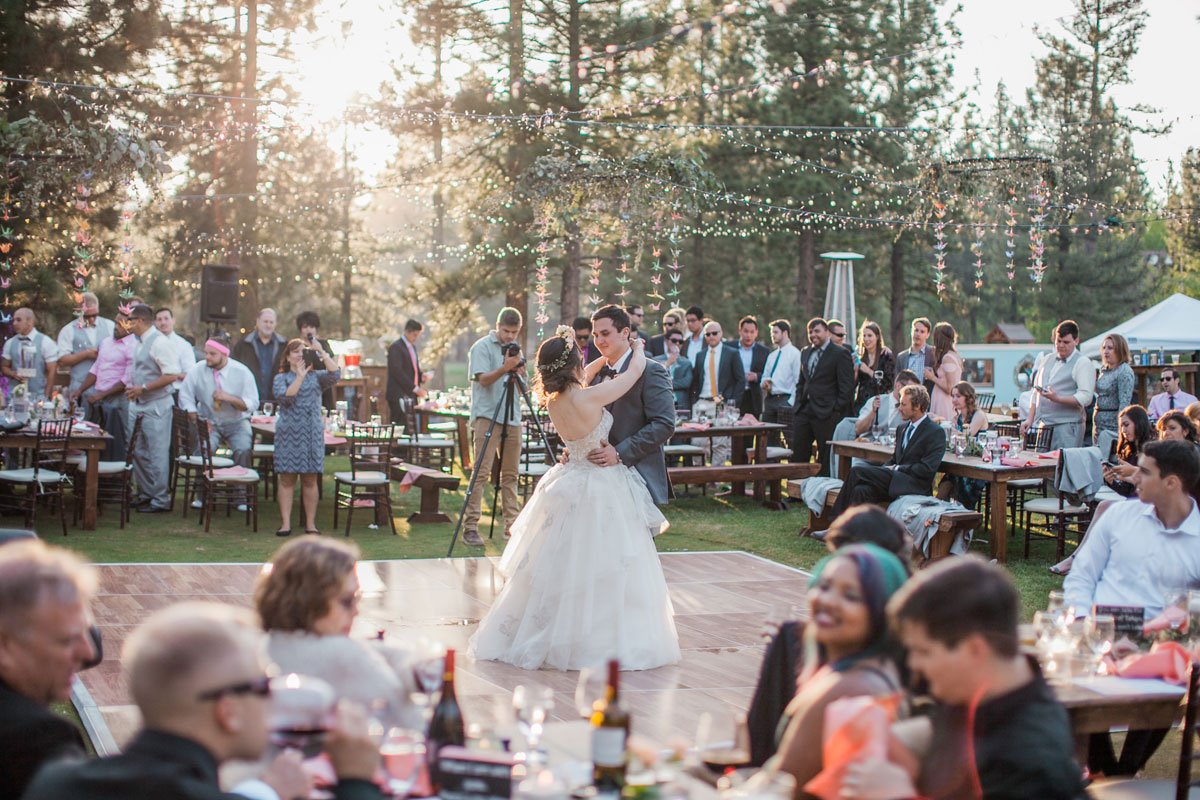 A Fun Destination Wedding in California