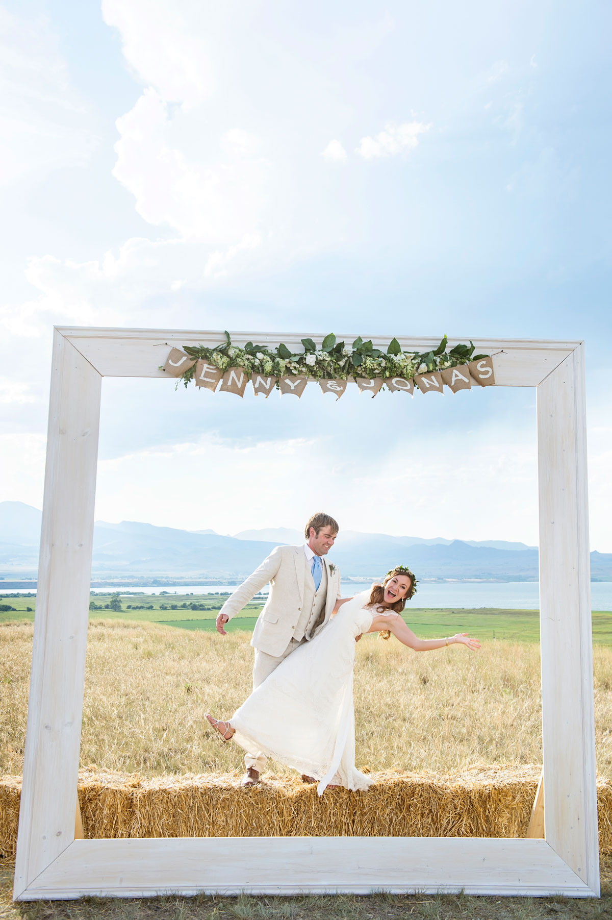 A Texas Meets Montana Ranch Wedding