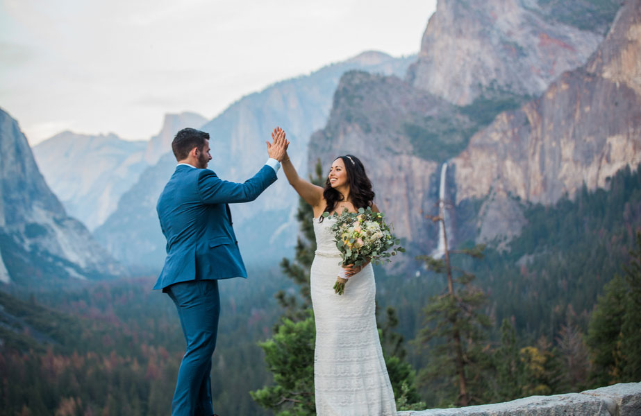 An Intimate Wedding In Yosemite National Park Luxe