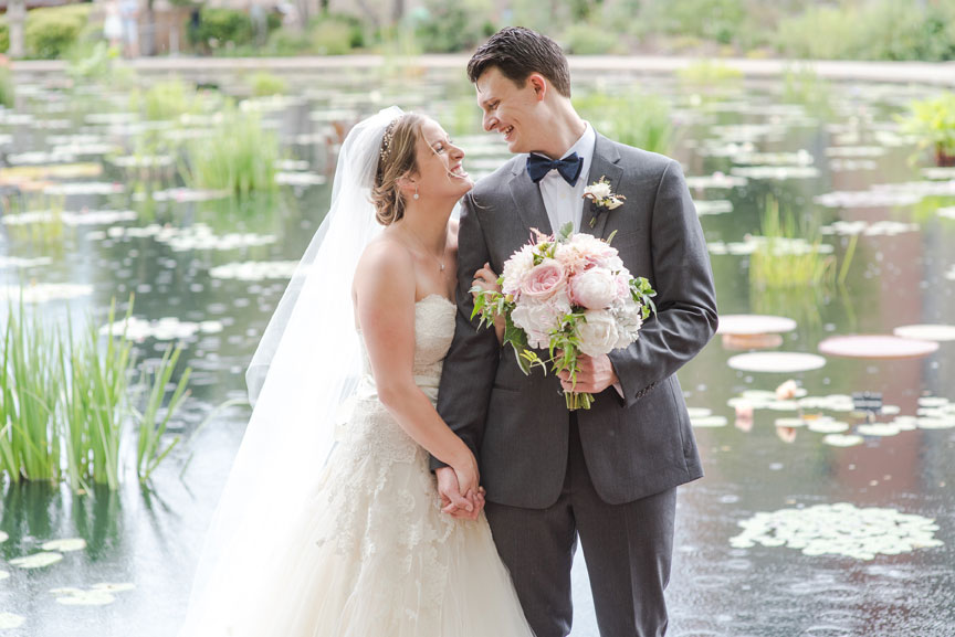 Megan & Matthew at Denver Botanic Gardens