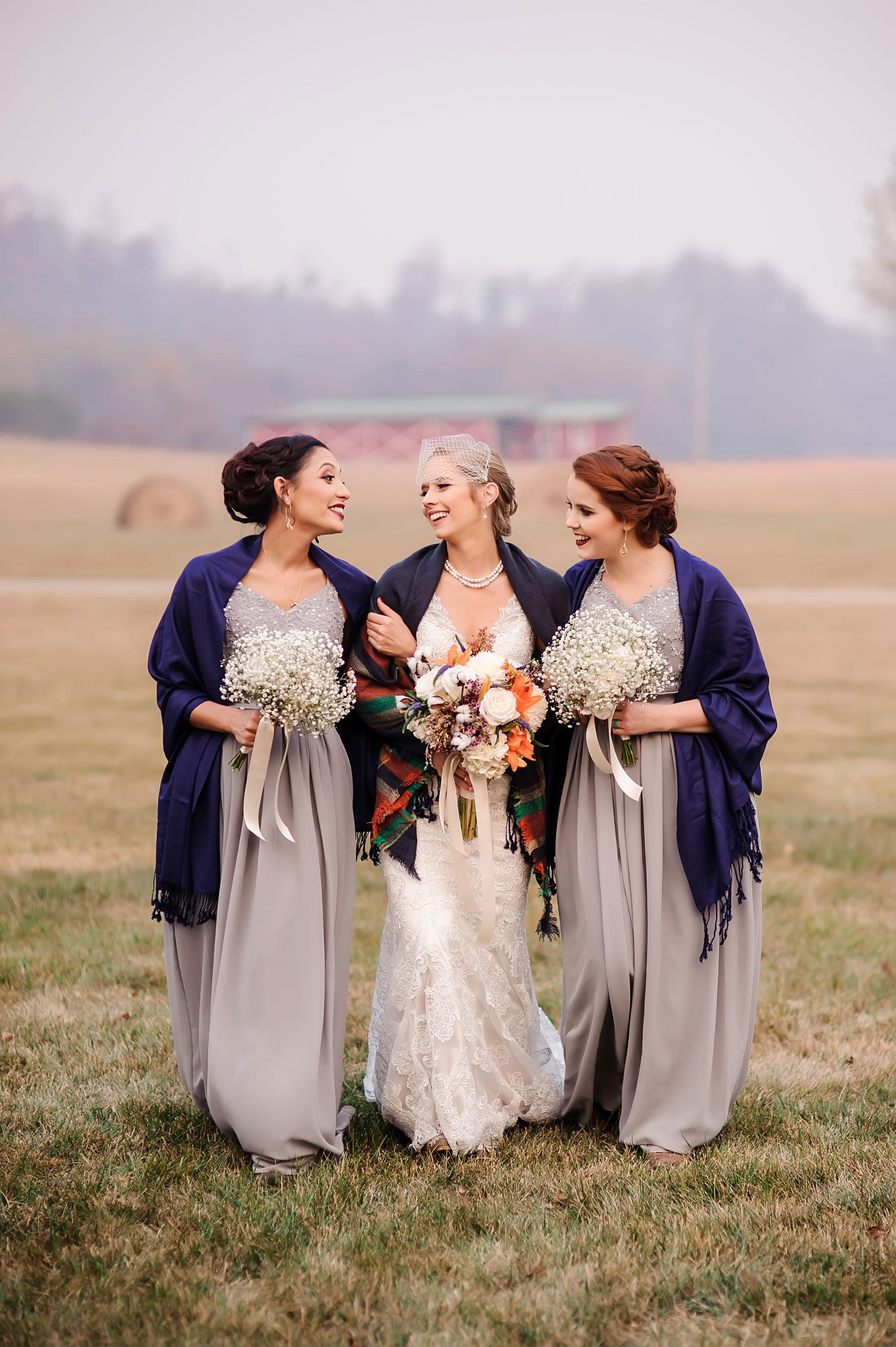 A Rustic Military Wedding in North Carolina