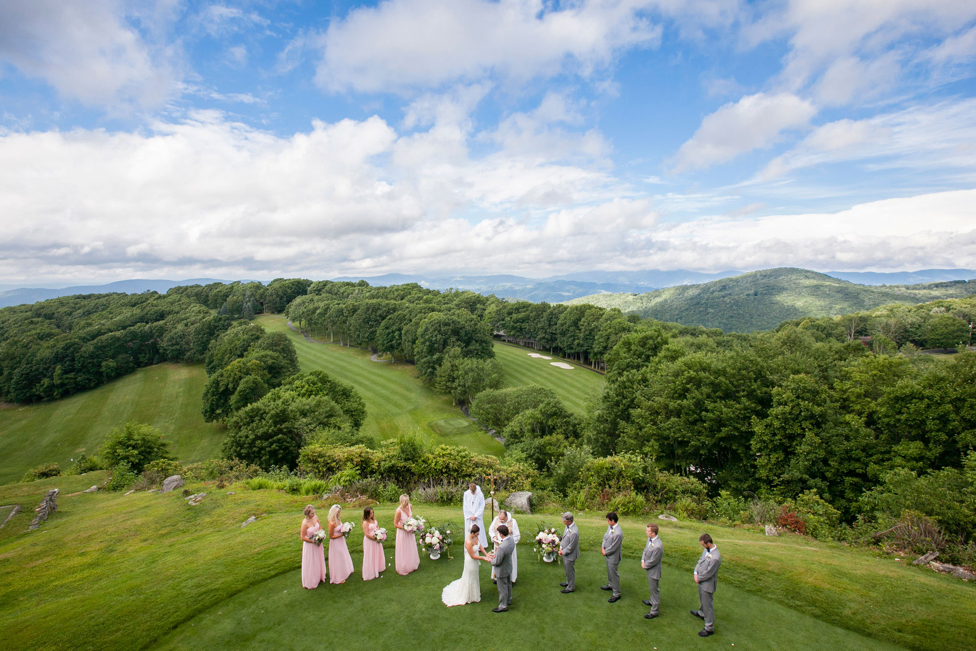 A Secret Garden Wedding in the Blue Ridge Mountains A Secret Garden Wedding in the Blue Ridge Mountains Blue Ridge MountainWedding0110