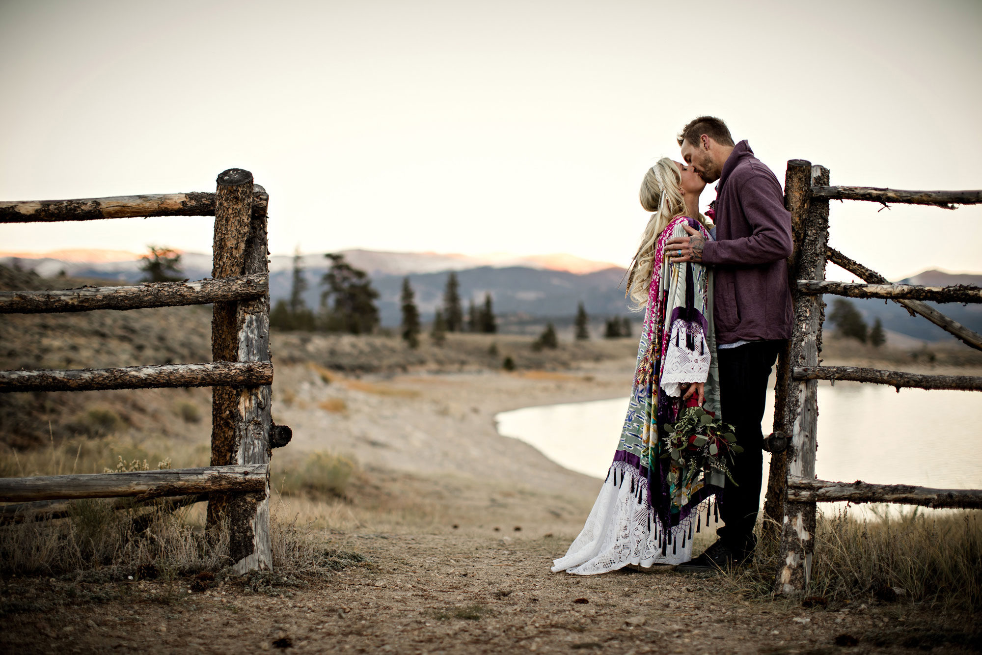 A Casual Mountain Elopement in Colorado